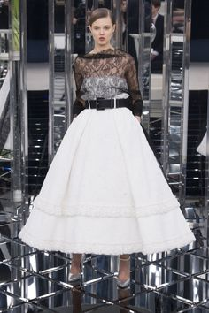 Chanel | Haute Couture - Spring 2017 | Look 49