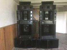 Pro Audio Speakers, Stage Equipment, Sound Room, Subwoofer Box Design, Audio Design, Concert Hall, Loudspeaker, Drip Coffee Maker, Old School