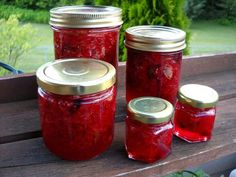 Part Three: Strawberry & Rose Petal Jam Rose Petal Jam, Rose Petals, Kitchen Inventions, Strawberry Roses, No Cook Desserts, Looks Yummy, Butter Recipe, Canning Recipes, Sweet And Salty