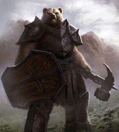Image result for armored bear