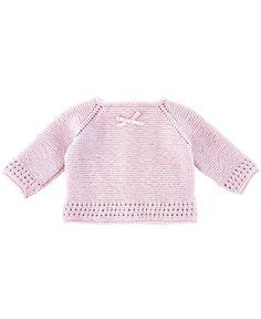 Patucos Bebe Ro Infantil Punto Rosa Pompon - Ro Infantil