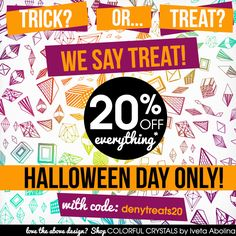 "Halloween Sale - TODAY ONLY! 20% off with code ""denytreats20"". Excludes DENY Cash and Sheet Sets."