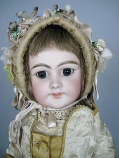 Closed Mouth Antique DEP German Doll made for the French Market