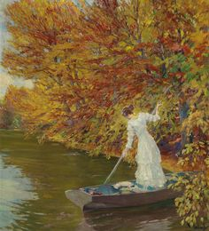https://flic.kr/p/YEmbPm | Edward Cucuel - Autumn | [Palais Dorotheum, Vienna - Oil on canvas, 101 x 90 cm]