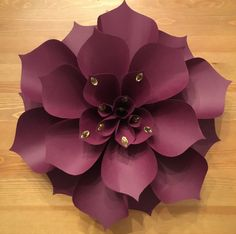 large paper flowers wonderful paper art, a deep rich color Chrysanthemum flower Paper Flowers Craft, Large Paper Flowers, Paper Flower Wall, Crepe Paper Flowers, Paper Flower Backdrop, Giant Paper Flowers, Flower Wall Decor, Paper Roses, Felt Flowers