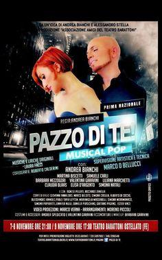 Riflettori su...di Silvia Arosio: Pazzo di te musical pop: in anteprima, tutte le in...