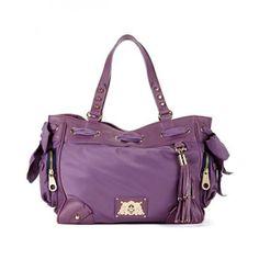 Juicy Couture Purses | Home / Juicy Couture Handbag, Nylon Daydreamer Bag - Hazy Purple