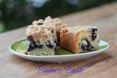 Blueberry Buckle by Food Librarian, via Flickr