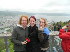 The girls above Bergen!