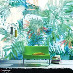 Transform your home into a chic but fantastically chilled-out hideaway . It can be printed as per your wall dimension and preferred color and substrate. . We will deliver it right at your doorsteps at 20% discount. Just use IGCODE20 to apply the discount. . . #botanicalwallpaper #leafmural #muralwallpaper #digitalprintwallpaper #custommural #wallpapercustom #tropicalvibes #tropicalinspiration #tropicalinterior #wallpaper #walldesign #wallmural #muralart #interiordetails #interior_delux Mural Art, Wall Murals, Design Your Bedroom, Tropical Interior, Botanical Wallpaper, Forest Landscape, Tropical Vibes, Home Wallpaper, Trendy Home