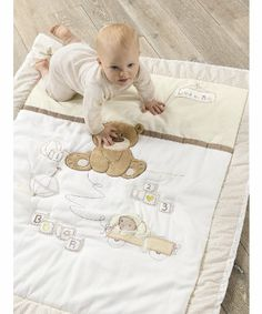 Mothercare Loved So Much Cot/Cotbed Quilt - quilts & coverlets - Mothercare