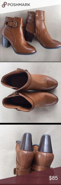 Bass Felicia Cognac boots g.h. bass & co est bass 1876 ankle boots. Size 7M Brand new Bass Shoes Ankle Boots & Booties
