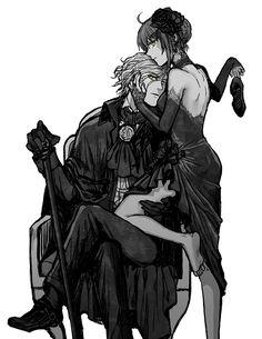 巌窟王 エドモン・ダンテス × ぐだ子【Fate/Grand Order】Edmond Dantes × Gudako