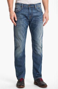 Mavi Jeans 'Zach' Straight Leg Jeans (Light Cooper)
