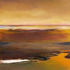 """Saatchi Art Artist Jean Marie Renault; Painting, """"les berges de la Sanaga"""" #art"""