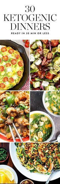 The ketogenic diet is a high fat, moderate protein, low carb eating plan that could help you lose weight. If it's cool with your doctor, try one of these 30 minute keto friendly dinners. Healthy Recipes, Ketogenic Recipes, Low Carb Recipes, Diet Recipes, Quick Recipes, Recipies, Ketogenic Diet Plan, Atkins Diet, Keto Diet Meals