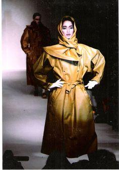 Anne Marie Beretta trench coat
