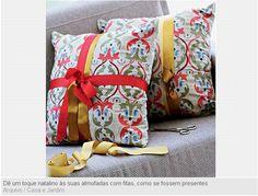 Almofadas decoradas!