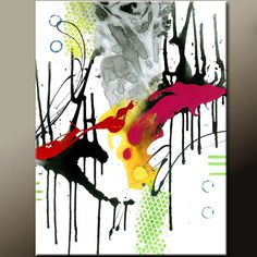 Random Acts - NEW Abstract Modern Art Painting  Original Contemporary painting by wostudios, $69.00