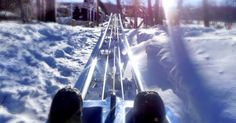 The Mountain Coaster is open weekends & holidays all winter long! #MyCamelback