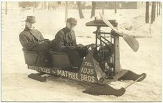 Snowmobile - The First One?