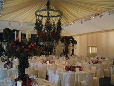 Fabulous living chandelier from Field and Lawn Marquees