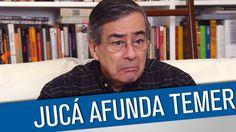 """Romero Jucá deu uma nova interpretação ao que disse no grampo. Ele criou uma nova língua. É o """"juquês"""". Talvez seja uma nova versão do grampo sem áudio do Gi..."""