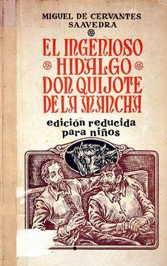 Quijote,Don (Personaje de ficción). El Ingenioso hidalgo don Quijote de la Mancha / Miguel de Cervantes; edición para niños reducida por Tomás Borrás; [Alfonso G. Valcárcel, il.] (1959)