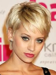 short hairstyles inverted triangle - Google Search