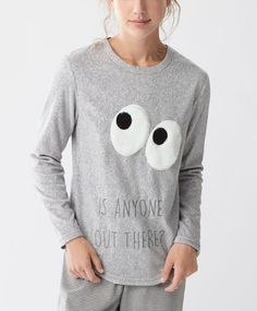 T-shirt polaire yeux