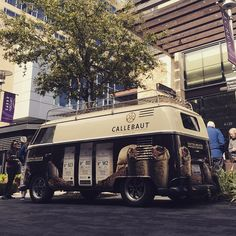 OutCold 1963 VW Panel Bus: Barry Callebaut