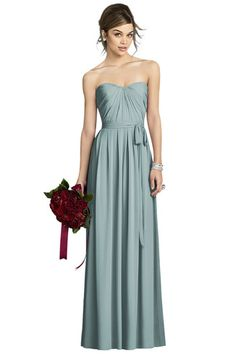 Shop After Six Bridesmaid Dress - 6678 in Lux Chiffon at Weddington Way. Find the perfect made-to-order bridesmaid dresses for your bridal party in your favorite color, style and fabric at Weddington Way.