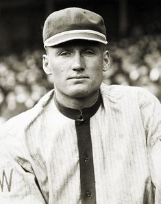 Walter Johnson, Washington Senators-one of the most famous pitchers of all time, doubler headers