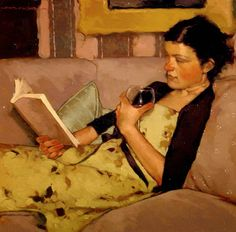 Reading and Art: Joseph Lorusso Repinned by http://www.elleryadamsmysteries.com