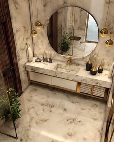 Luxury Bathroom Master Baths Dreams is utterly important for your home. Whether you choose the Bathroom Ideas Master Home Decor or Luxury Bathroom Master Baths Glass Doors, you will create the best Dream Master Bathroom Luxury for your own life. Bad Inspiration, Bathroom Inspiration, Bathroom Design Luxury, Home Interior Design, Modern Luxury Bathroom, Washroom Design, Parisian Bathroom, Ikea Interior, Lobby Interior