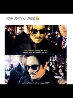 I'm with Johnny on this one
