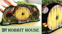 How to transform a jar into a hobbit house with polymer clay. Use an LED tea light to turn the house into a lantern at night! DO NOT USE a regular tea light ...