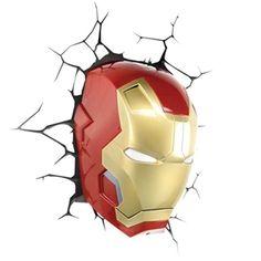 3D Wandleuchte LED Modern Iron Man Design