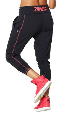 Pumped Up Harem Pants & these shoes | Zumba Fitness Shop