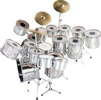 Neal Smith's (alice cooper band) 1973 Mirror Ball drum kit sold at auction.