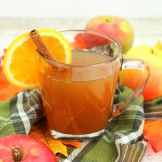 Mulled Apple Cider, Grilled Steak Salad, Hot Chocolate Mix, Fall Drinks, Christmas Drinks, Merry Christmas, Orange Slices, Refreshing Drinks, Recipe Of The Day