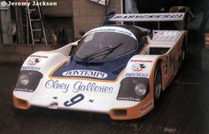 RSC Photo Gallery - Silverstone 1000 Kilometres 1986 - Porsche 956 no.9 - Racing Sports Cars