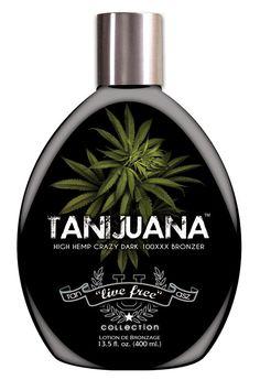 New For 2014 - Tan Asz U Tanijuana 100x Hemp Bronzer Tanning Lotion