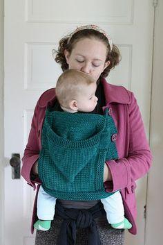 Staying Warm While Babywearing