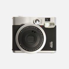 Fujifilm - Instax Mini 90 Neo Classic with Free Case Fujifilm Instax Mini 90, Instax Mini 8, Polaroid Camera Instax, Instant Film Camera, Camera Gear, Camera Accessories, Cool Gadgets, Classic, Polaroid Ideas