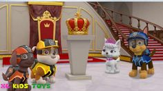 Paw Patrol Mission Paw | Rescue Royal Crown | Nickelodeon Jr Kids Game V...