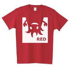 RED(白ロゴver.) | デザインTシャツ通販 T-SHIRTS TRINITY(Tシャツトリニティ)