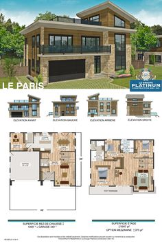 Paris house plan