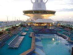 Royal Carribean.. LOVE cruisin'.         THE best time!