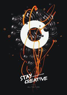 Poster created by Polish designer  Damian Zaleski